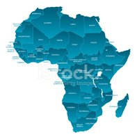 Africa,Map,Vector,countries...