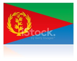 Eritrea,Flag,Vector,Isolat...