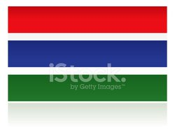 Gambia Country Flag, Western Africa