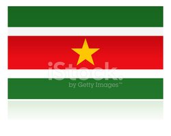 Suriname,National Flag,Fla...