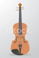 Violin,Cartoon,Illustration...
