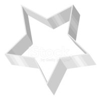 Pastry Cutter,Star Shape,Ve...