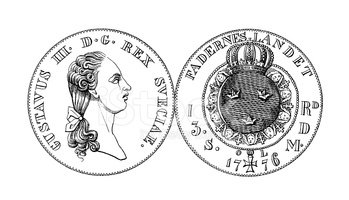 Ilustration,Engraving,Coin,...