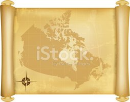 Map,Cartography,Canada,Old-...