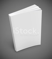 Book,Blank,Book Cover,White...