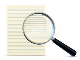 Magnifying Glass,Document,I...