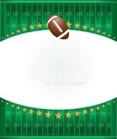 Football Field Ball Goal Post And Yard Markers Clipart Images