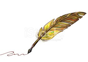 Feather,Pen,Writing,Paint,N...
