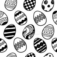 Easter Egg,Easter,Sketch,D...