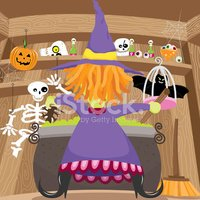 Witch,House,Home Interior,H...