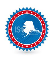 Alaska,Label,Red,Sign,Silho...