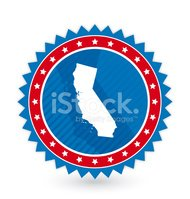 California,US State Border,...