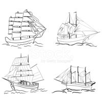 Sailboat,Sailing Ship,Passe...