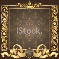 Coat Of Arms,Gold Colored,G...