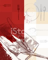 Fork,Dining,Dirty,Grunge,Re...