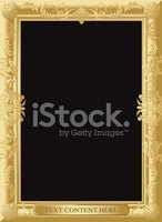 Frame,Gold Colored,Painting...