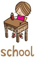 Child,Table,Pencil,Ilustrat...