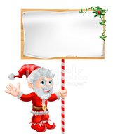 Christmas,Sale,Wooden Post,...