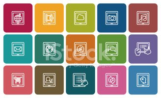 tablet icons