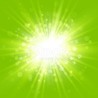 Exploding,Glowing,Green Col...