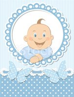 Greeting Card,Baby,New Life...