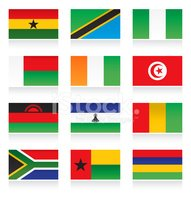 All African Flags,National ...
