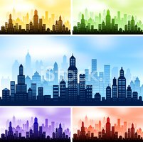 City Skyline Background Collection