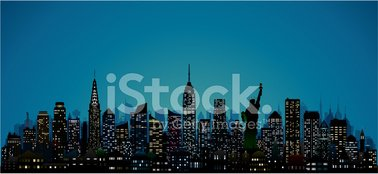 New York City,Urban Skyline...