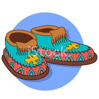 Moccasin,North American Tri...