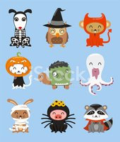 Halloween Zoo Animal Costumes