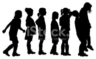 Child,Side View,Isolated,Wa...