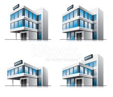 Four Cartoon Office Vector Stock Vectors Clipartme