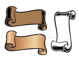 Scroll,Paper,Clip Art,Messa...