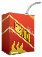 Gasoline,Can,Vector,Fossil ...
