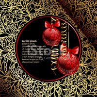 Red,Backdrop,Vector,Gold,Cu...