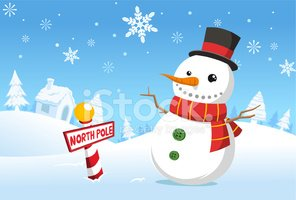 Snowman,Winter,Santa Claus,...