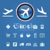 Commercial Airplane,Symbol,...