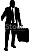 Silhouette,Business Travel,...