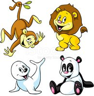 Ape,Monkey,Lion - Feline,Fr...