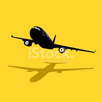 Silhouette,Commercial Airpl...
