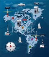 Infographic,Map,Cartography...