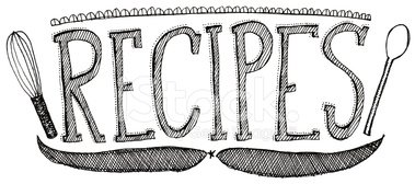 Recipes Stock Vectors