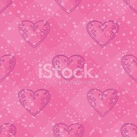 Pattern,Pink Color,Heart Sh...