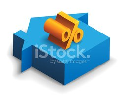 Percentage Sign,House,Loan,...