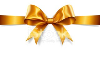 gold gift bow vector stock vectors clipart me