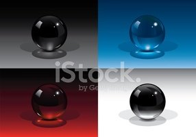 Sphere,Dark,Glass - Materia...
