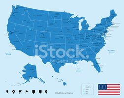 USA,Cartography,City Map,Ci...