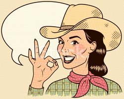 Cowgirl,Retro Revival,Old-f...