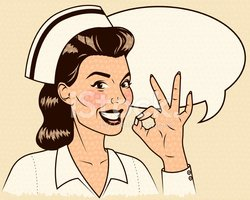 Nurse,Retro Revival,1940-19...
