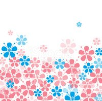Pattern,Flower,Pink Color,D...